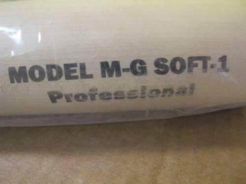 "GLOMAR PRO-STOCK M-G SOFT-1 SOLID NATURAL MAPLE WOOD SOFTBALL BAT 33/"" ADULT"