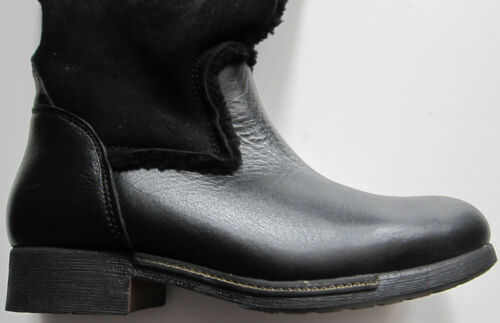 Rrp Taglia 6 Next Boots £ 150 Black 5 Suede Leather Womens New WIzqFnwT7c
