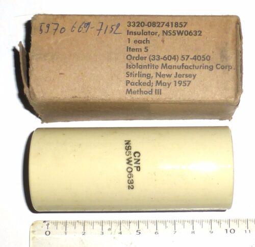 2 colonnes porcelaine NS5W0632 US NOS NIB D 44 mm L 120 mm Promotion