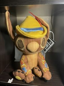 Stitch Crashes Disney Pinnochio Plush Limited Release - IN HAND!