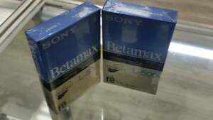 BRAND-NEW-Sony-L500-Beta-Tape-BETAMAX-150-M-NTSC