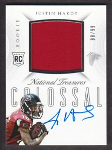 2015-National-Treasures-Rookie-Colossal-Jersey-Auto-RCO-JH-Justin-Hardy-88-99