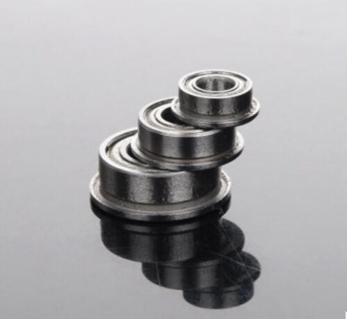 Nouveau 10pcs Bride Roulement à billes F606ZZ 6*17*6 mm métrique à Bride Roulement
