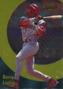Barry Larkin 1998 Bowman's Best #92 HOF Cincinnati Reds card