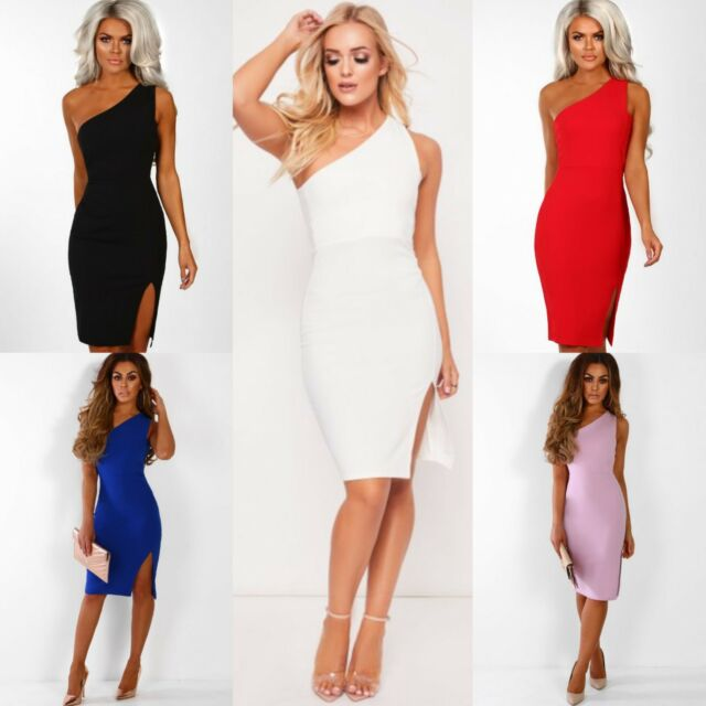 Women Ladies Cable Chunky Knitted Ruffle Frill Off Shoulder Bardot Bodycon Dress