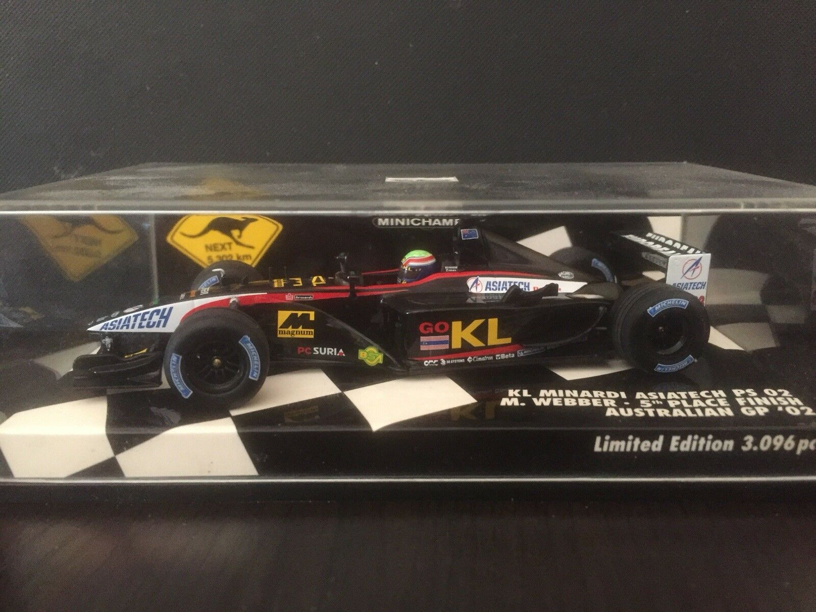 Mark webber Minichamps 1 43 Collection