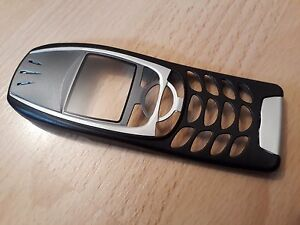 NEUE, KOMPLETTE Frontschale für Nokia 6310i Nokia 6310  in Farbe schwarz-silber