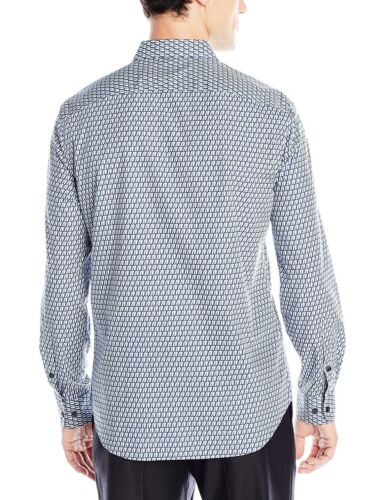 SALE Men/'s Perry Ellis Long Sleeve Button Down Shirt Travel Luxe Tech VARIETY!