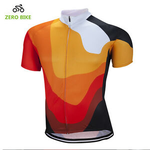 b063ce588 New Casual Mens Racing Team Cycling Jersey Bicycle Short Sleeve Tops ...