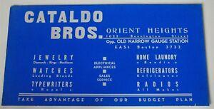 Années 40 ~ années 50 Chariot AD ~ Cataldo Bros ~ Orient Heights ~ E Boston ~ appareils électriques-cal Appliancesafficher le titre d`origine 5XyTpEbk-09090411-151982526
