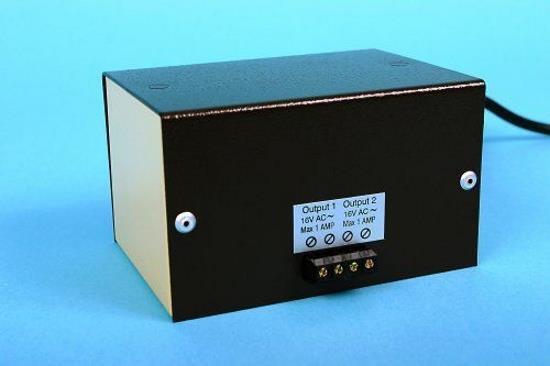 Gaugemaster - M1DC - M1DC Cased Transformer 2 x 12v DC 1 Amp