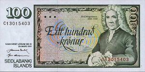 Islande/iceland 100 Couronnes 1961 (1981) Pick 50 Unc-afficher Le Titre D'origine W5bmmwzg-08001231-469387703