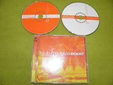Club Mix Ibiza 2000 - RARE  IMPORT 2xCD Basement Jaxx Frankie Goes To Hollywood