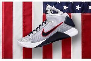 quality design 8e75f 258a0 Image is loading Nike-Hyperdunk-OG-Team-USA-Olympic-Basketball-UWR-