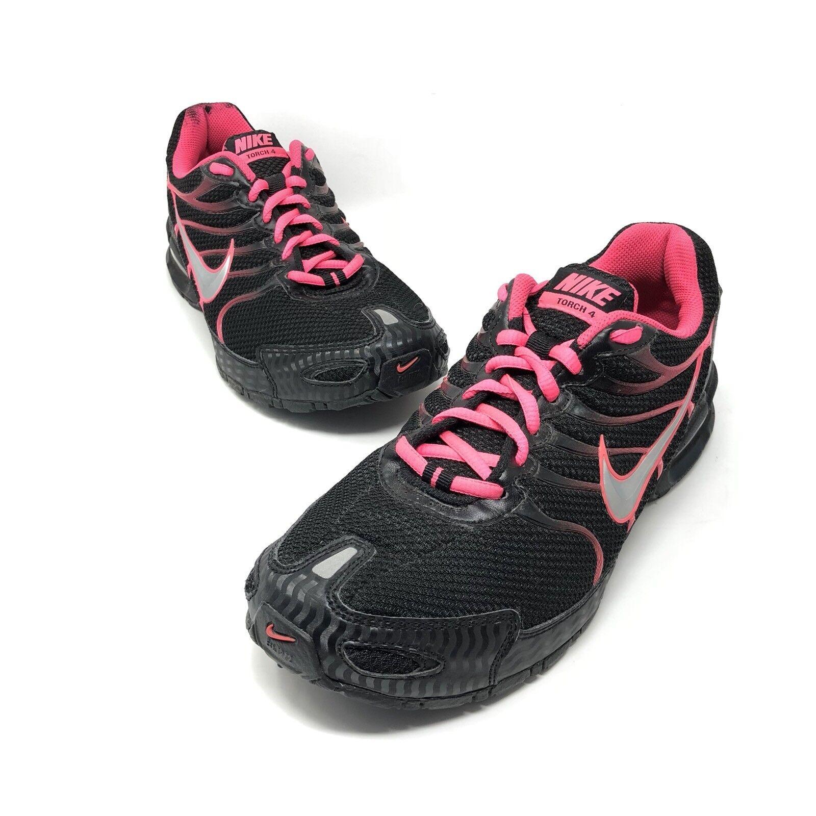 Nike air max max max torcia 4 donne scarpe taglia 9 nero / rosa 343851-006 flash 22a1c8