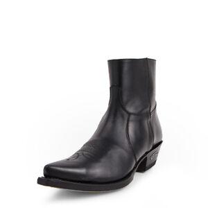 7826 Bottes Sendra boots western noir HOMME/FEMME