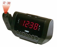 Alarm Clock Projection Digital Weather LCD Snooze Color Display w/ LED Backlight