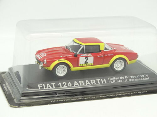 Sonstige Fiat 124 Abarth Portugal 1974 Ixo Presse Rally 1/43 Fahrzeuge