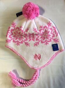 7db7cbd46e0 Notre Dame Fighting Irish ADIDAS Knit Beanie Toque Winter Hat New ...