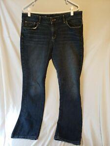 705870d4947b6 Image is loading Liz-Claiborne-Jeans-Womens-Size-12-Straight-Leg-