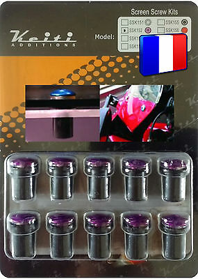 Kit Bulle 10 Boulons Violet Hp2 Megamoto Geurig Aroma