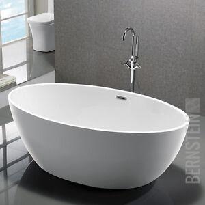 Freistehende Wanne bernstein design badewanne freistehende wanne destino acryl nahtfrei