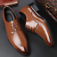 Hot-Men-039-s-Wedding-Dress-Pointed-Oxfords-Leather-Shoes-Casual-Formal-Size-6-13 thumbnail 14