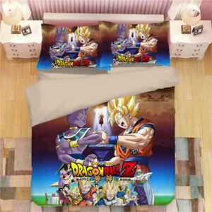 New 3D Dragonball Design Bedding set Duvet//Quilt//Comforter Cover Pillowcase