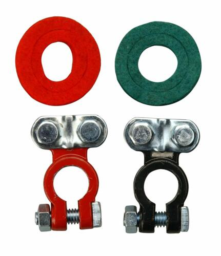 2-Pack Road Power 903C-2 Color Coded Terminals Red//Black 6 and 12-Volt