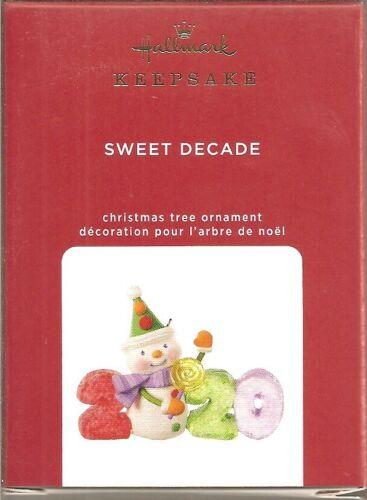 Hallmark 2020   Sweet Decade number 1 in series Ornament