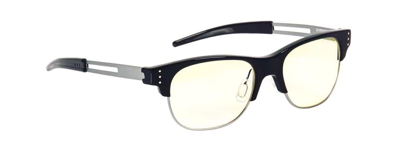 Gunnar CYP-00101-N-A Cypher Onyx Frame Computer Eyewear Glasses w  Amber Lens