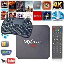 MXQ PRO 4K BOX Quad-Core Android 7.1 SMART TV-BOX WITH KEYBOARD
