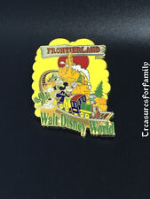 Disney Pin WDW Frontierland Mickey & Goofy Big Thunder Mountain Railroad FRE SHP