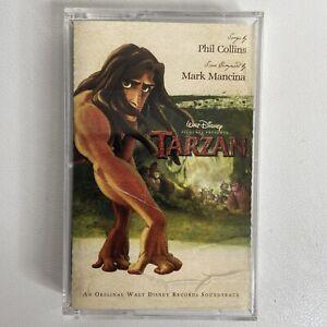 Tarzan Disney Original Movie Soundtrack Cassette Tape Phil Collins 1999