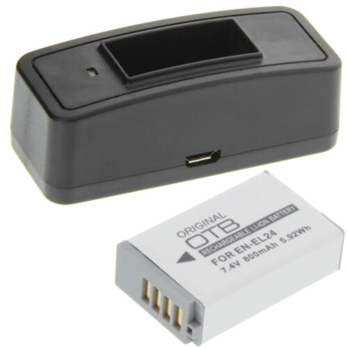 estación de carga batería batería de repuesto batería tipo Nikon en-el24 batería Cargador