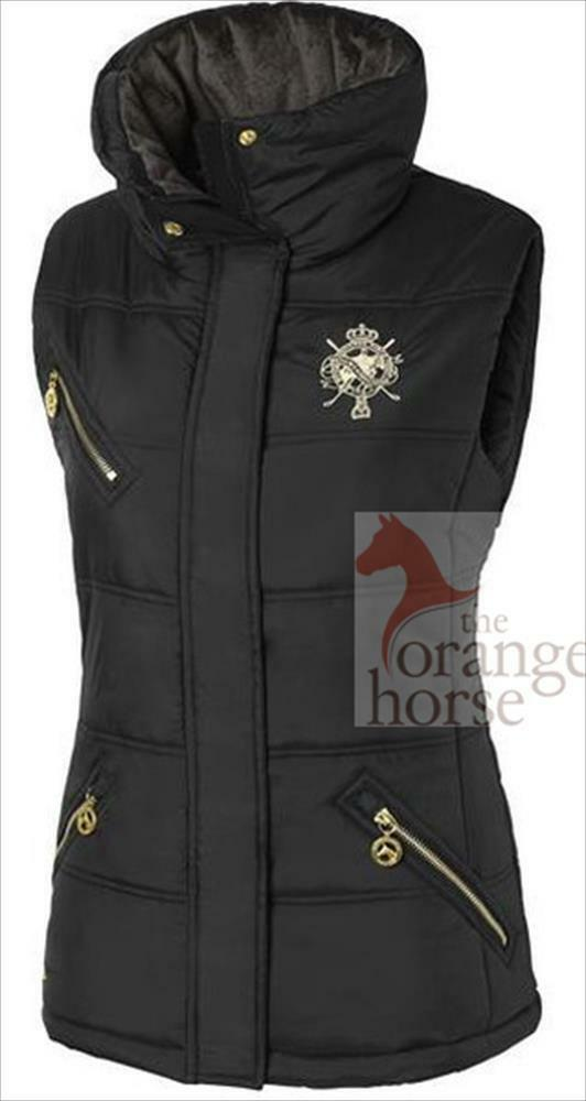 Mountain horse  waistcoat for women horse-quilted winterreitweste  fashion brands