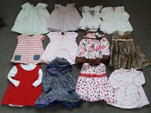 LARGE-BABY-GIRL-BUNDLE-OF-DRESSES-X-12-3-6-MONTHS-2