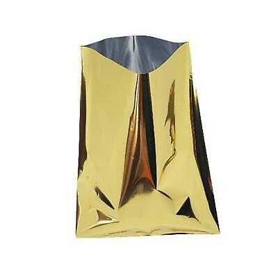 200 Bustine Carta Pacco Regalo Metallizzate Lucide 10 X 15 Cm Giallo Oro New Con Le Attrezzature E Le Tecniche Più Aggiornate