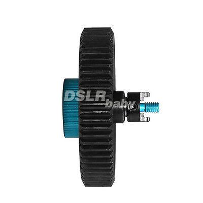 Fotga big pitch gear standard lens 65x0.8mm f DP500IIS II follow focus + adapter