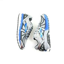 16375b8b8c469 Brooks Beast 16 Size 8 Track Road Running Shoes Mens Silver Blue Black Wide  2E