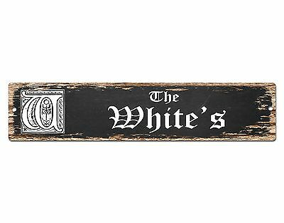 SP0452 The HERNANDEZ/'S Family name Plate Sign Bar Store Cafe Home Chic Decor