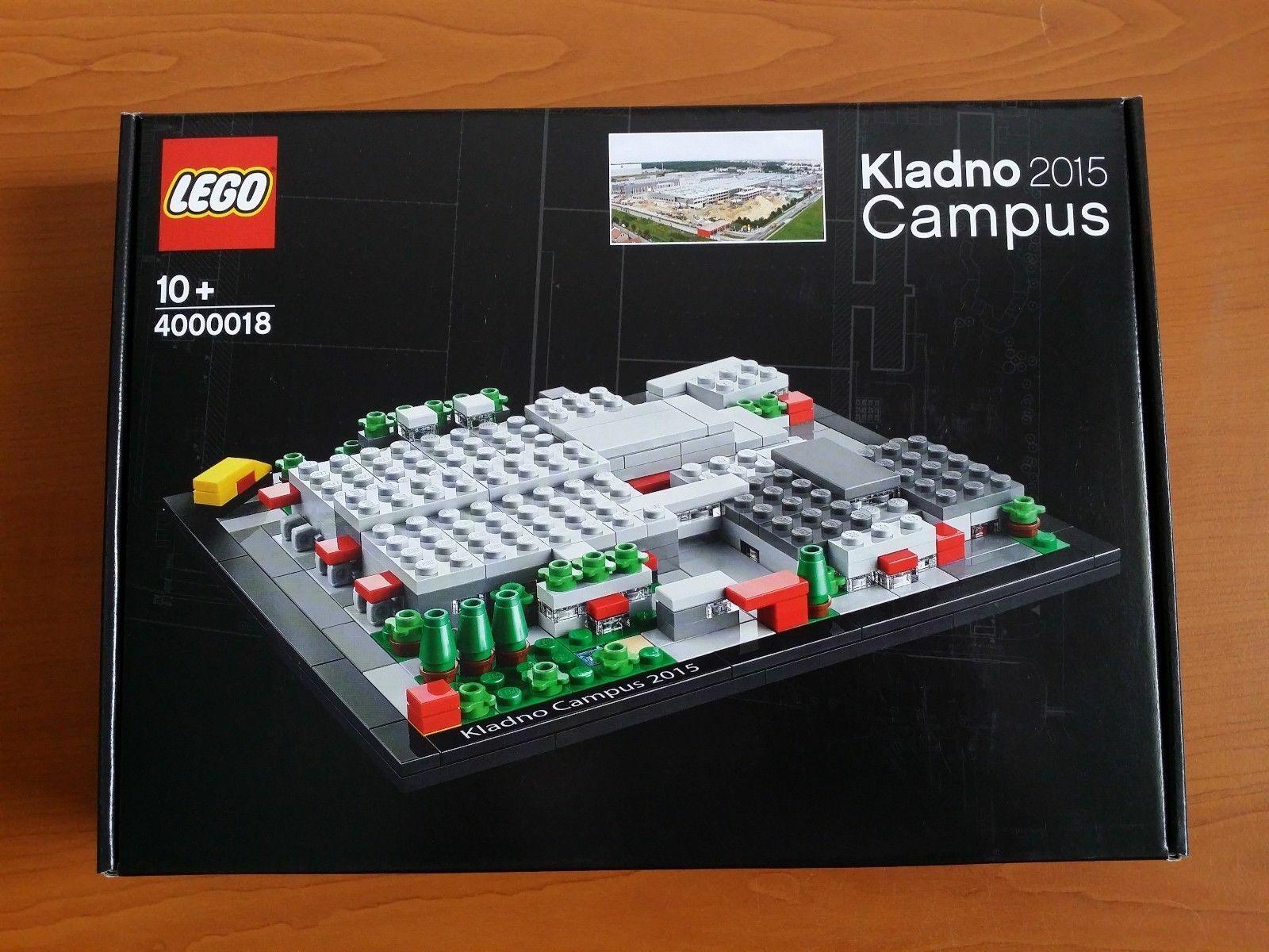 Lego Lego Lego KLADNO CAMPUS 4000018  2015 simiraily  4002014 4002015 4002016 4002018 526f55