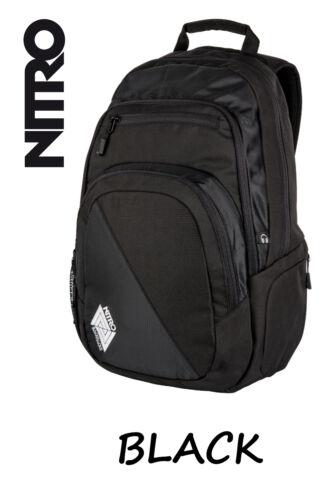 NITRO Stash 29L Rucksack für Schule Beruf oder Sport Uni