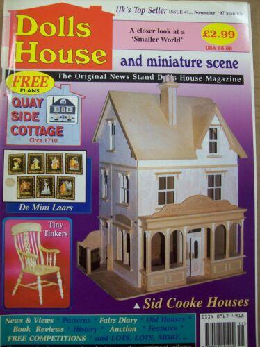 DOLLS HOUSE AND MINIATURE SCENE MAGAZINE ISSUE 041