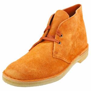 Clarks Originals Bottes Désert Boot Ginger Daim