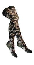 OVERKNEES STRÜMPFE - Camouflage SOC 333