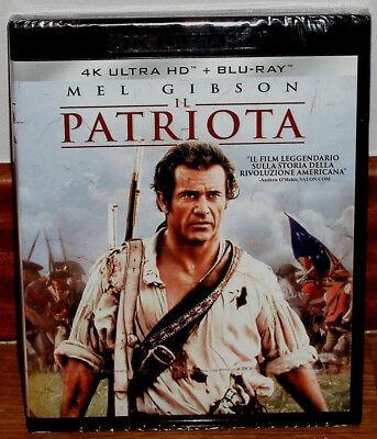 El Patriota 4k Ultra Hd Blu Ray 2 Discos Nuevo Español Accion Sin Abrir R2 Ebay