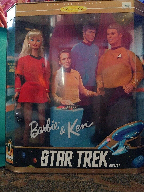 Barbie y Ken.. 30th aniversario  Star Trek  Giftset