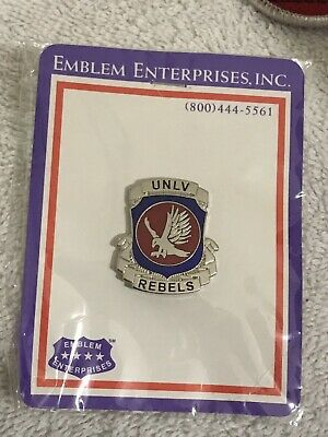 """/"""" One New UNLV Runnin Rebels Pin /"""" Heh Reb Official Licensed Product"""