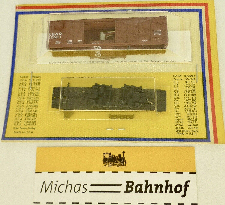 BLISTER KIT CB&Q 10911 Güterwagen Kit Micro Trains 29069 OVP 1 160 å